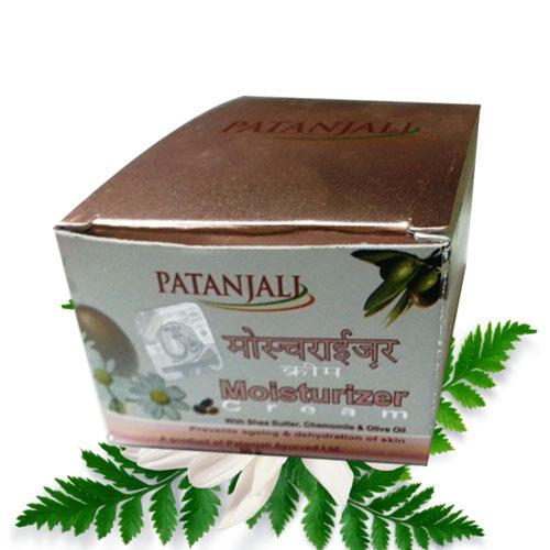 Patanjali Aloevera Moisturiaing Cream – 50 Gm