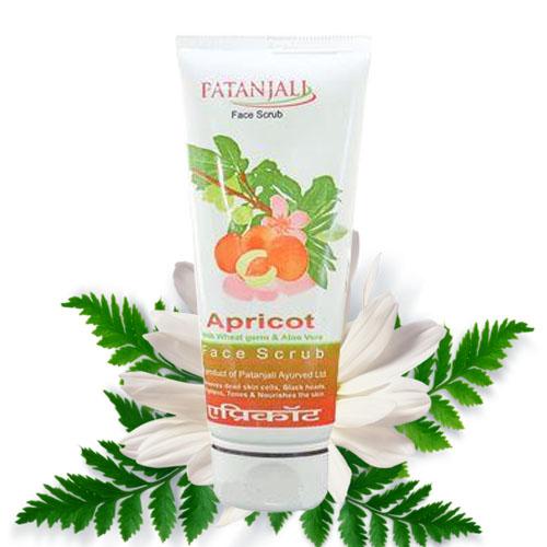 Patanjali Apricot Face Scrub – 60gm