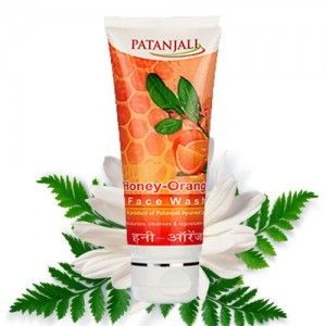 Patanjali-Honey-Orange-Face-Wash
