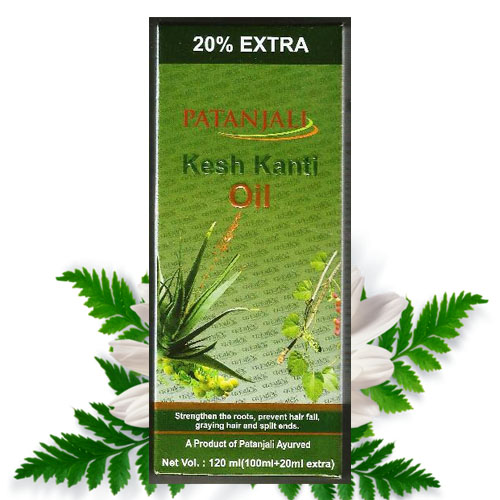 Patanjali Kesh Kanti Hair Oil – 120 ml ( 100ml + 20 ml Extra )