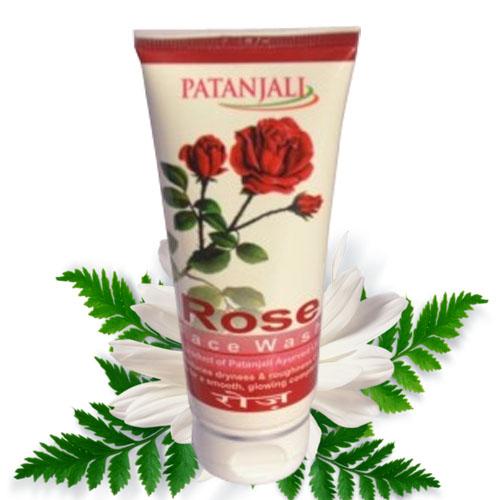 Patanjali Rose Face Wash – 60 gm