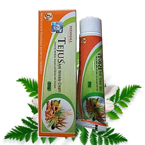 Patanjali Tejus Anti Wrinkle Cream – 50 gm