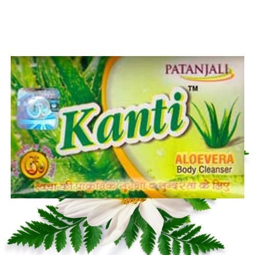 Patanjali Aloevera Kanti Soap – 75 gm