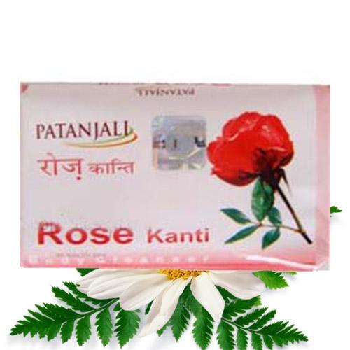 Patanjali Rose Kanti Soap – 75 gm