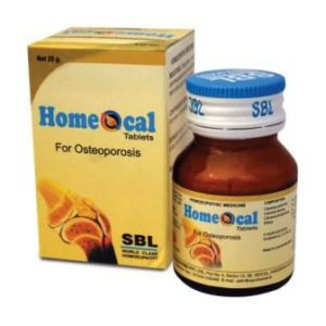 SBL Homeocal Tablets, Homeopathic Remedies for Osteoporosis