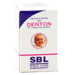 Denton Tablets for Delayed and Difficult Dentition (Teething Problems)