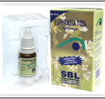 Homeopathic Euphrasia 10% Eye drops For Eye Strain And Dryness In Eyes